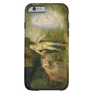 Miranda, Prospero and Ariel, from 'The Tempest' by Tough iPhone 6 Case