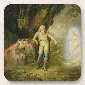 """Miranda, Prospero y Ariel, """"de la tempestad"""" cerca Posavaso"""