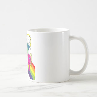 Miranda Riding Unicorn Coffee Mug