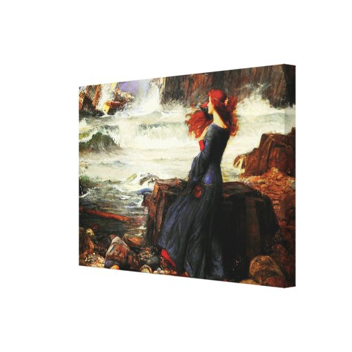 Miranda - The Tempest (1916)  ~ Fine Art Canvas Canvas Print