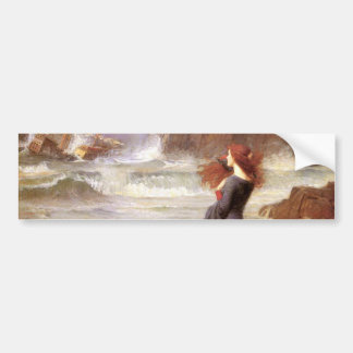 MiRANDA - ThE TeMPEST, by John William Waterhouse Bumper Sticker