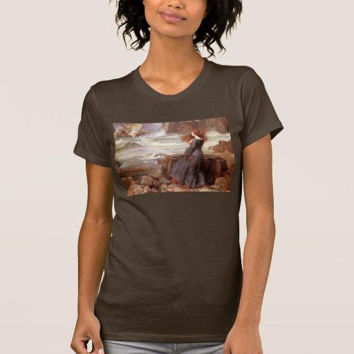 Miranda The Tempest by John William Waterhouse T-shirt