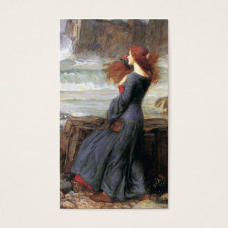 Miranda - The Tempest - John William Waterhouse Business Card