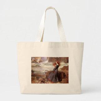 Miranda - The Tempest Large Tote Bag