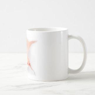Mirando a escondidas al bebé véale taza clásica