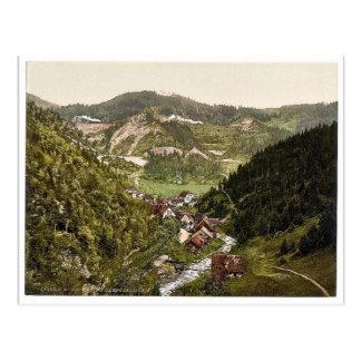 Mirando hacia el ferrocarril cerca de Treiberg, Tr Tarjeta Postal