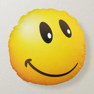 mirándole emoji cojín redondo