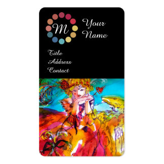 MIRANDOLINA BEAUTY MAKE UP ARTIST COLOR PALETTE BUSINESS CARD TEMPLATES
