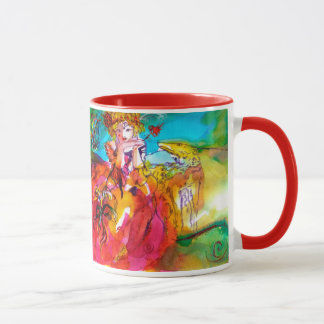 MIRANDOLINA ,Venetian Carnival Mask Mug