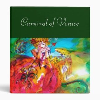 MIRANDOLINA ,Venetian Carnival Masks Binder
