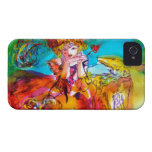 MIRANDOLINA  / Venetian Carnival Masks iPhone 4 Case-Mate Cases
