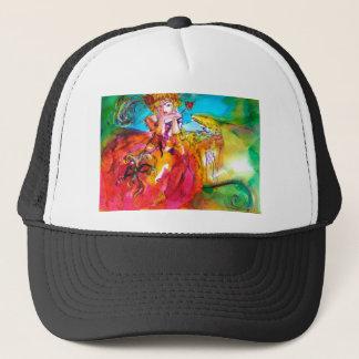 MIRANDOLINA  / Venetian Carnival Masks Trucker Hat