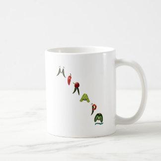 Mirapa Chili Peppers Classic White Coffee Mug
