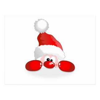 Mirar a escondidas a Papá Noel Postales