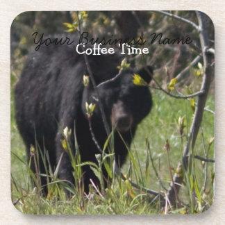 Mirar a escondidas el oso; Promocional Posavasos De Bebida