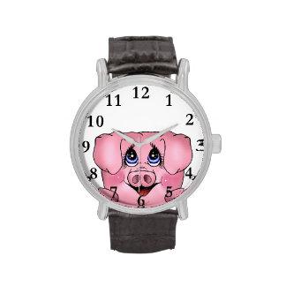 Mirar a escondidas el reloj guarro