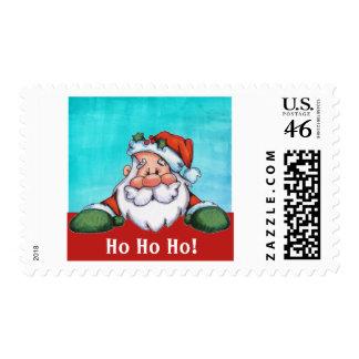 Mirar a escondidas franqueo del navidad del sello