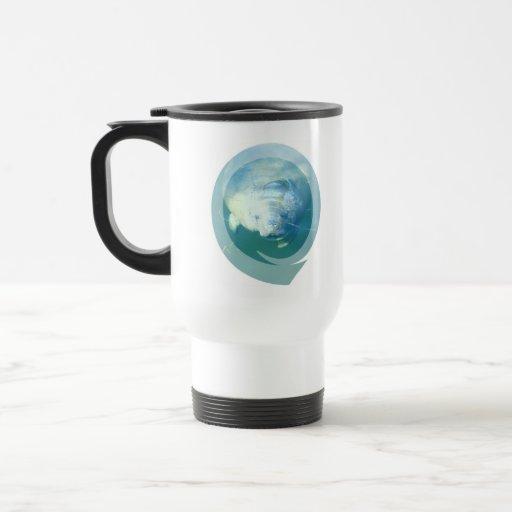 Mirar a escondidas la taza del viaje del Manatee