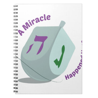 Mircale Happened Spiral Note Books