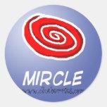 Mircle, www.clueberries.com sticker