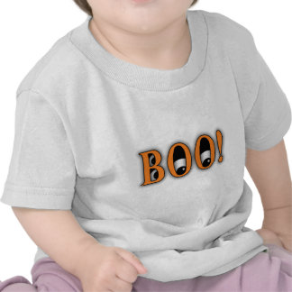 ¡Mire a escondidas un ABUCHEO! Ojos de Halloween Camiseta