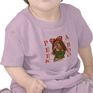 Mire a escondidas un abucheo camisetas