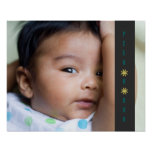 Mire a escondidas un poster adorable del bebé del