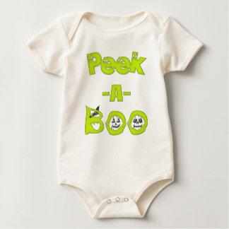 Mire a escondidas una enredadera orgánica infantil body para bebé