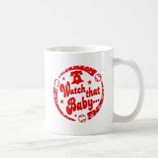 Mire a ese bebé taza clásica