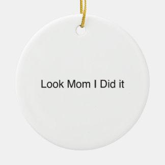 mire a la mamá que hice it ai ornamentos de reyes