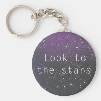 Mire al llavero de las estrellas