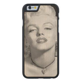 Mire de amor funda de iPhone 6 carved® slim de arce