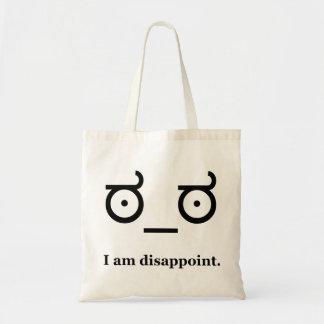 Mire de la desaprobación decepcionan bolsas de mano