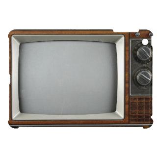 Mire dos veces caso del iPad del vintage TV el min