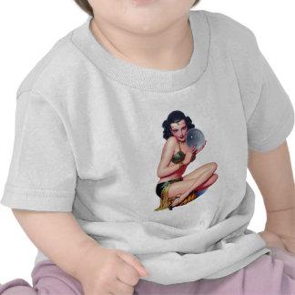 Mire en la bola de cristal camiseta