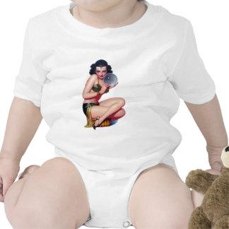 Mire en la bola de cristal trajes de bebé