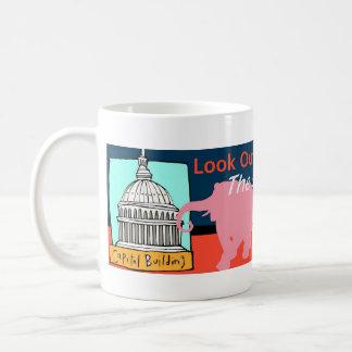 ¡Mire hacia fuera Washington! Taza Clásica