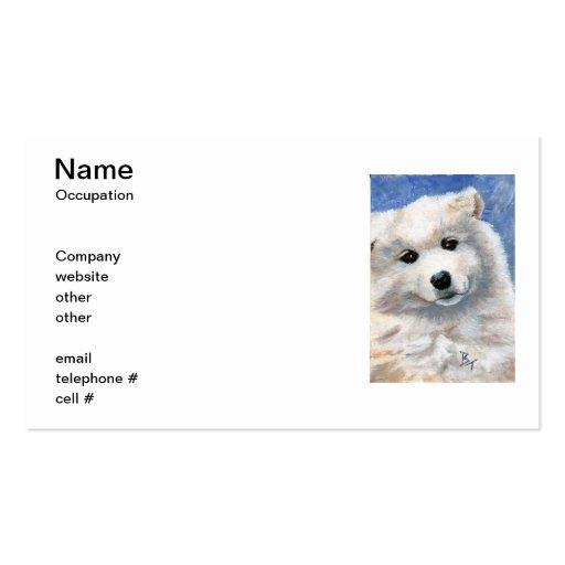 Mire las tarjetas de esa de la cara visita del per tarjeta de negocio