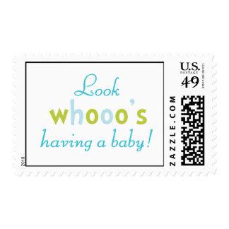 Mire los whooo que tienen sellos de un bebé
