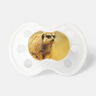 Mire mi amor suavemente Meerkat Chupetes Para Bebes