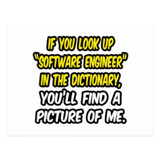 Mire para arriba a la Software Engineer en Postal