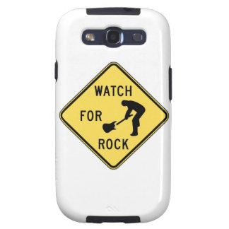 MIRE PARA el rock-and-roll/la música/el indie/el m Samsung Galaxy S3 Coberturas