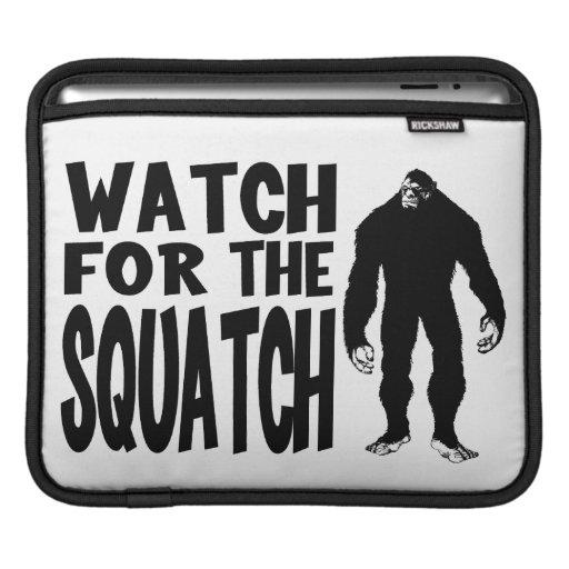 ¡Mire para el SQUATCH! Manga De iPad