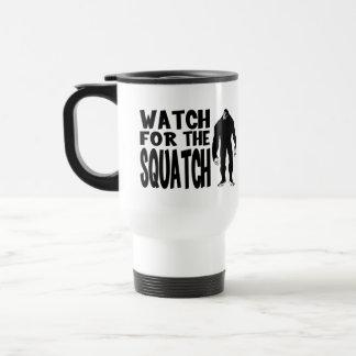 ¡Mire para el SQUATCH! Taza De Café