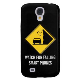 Mire para la señal de tráfico de los teléfonos de  funda para galaxy s4