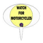 Mire para las motocicletas BLING Figura Para Tarta