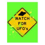 MIRE PARA LOS UFO POSTAL