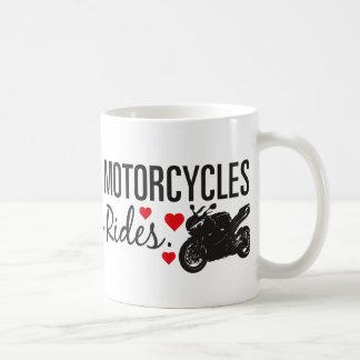 Mire por favor para las motocicletas - Sportbike Taza