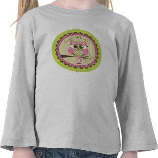 Mire quién camiseta del cumpleaños del búho