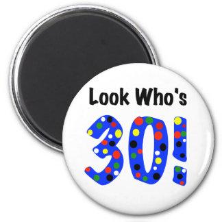 Mire quién es 30 imán de frigorifico
